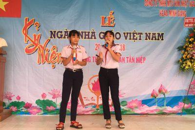 Lễ kỉ niệm ngày nhà giáo Việt Nam 20/11/2018